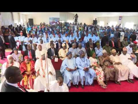 President Buhari Commissions Oshogbo High School