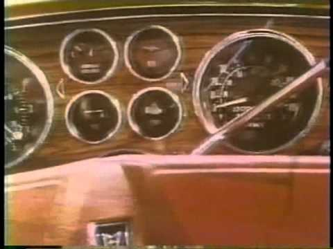 Pontiac Grand Prix 1977 TV commercial