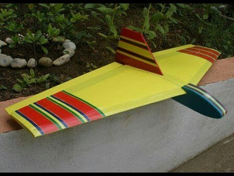 Modellflugzeug Slope Soaring Rc Flugzeug Selber Bauen Nurflügler