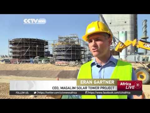 27132 economics energy CCTV Afrique World's largest solar tower to reduce CO2 emissions & provide en