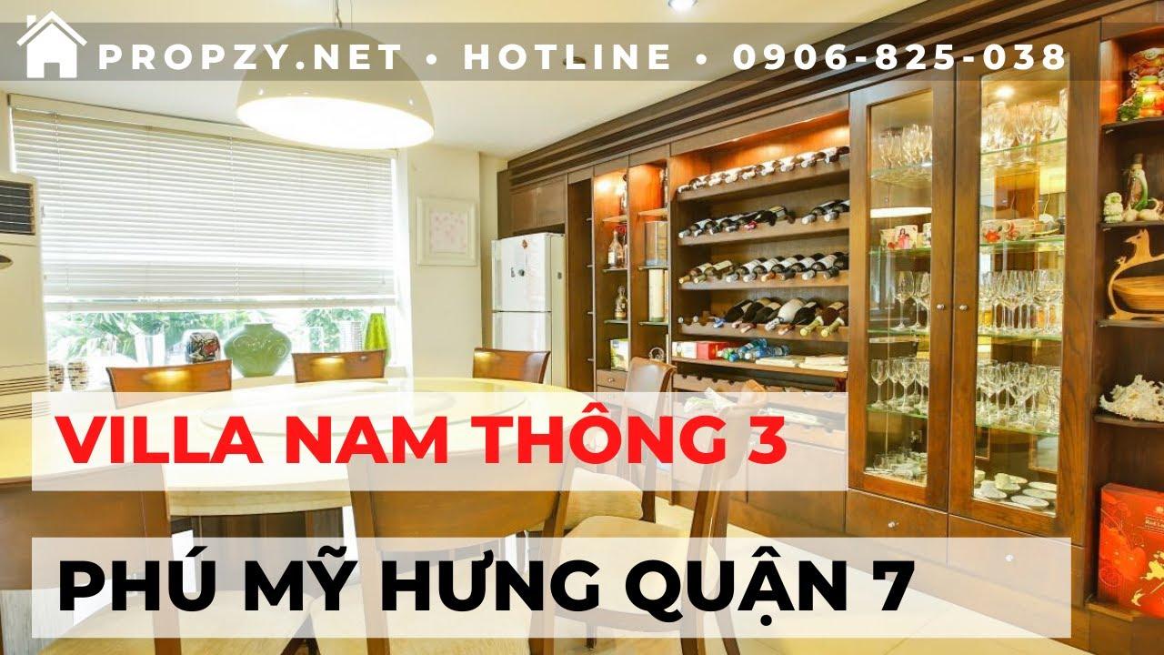 Bán Biệt Thự Phố Nam Thông 3. Phú Mỹ Hưng. Quận 7
