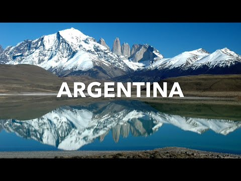 ARGENTINA: Relaxing Nature Photos of Argentina and Relaxing Music [for Stress Relief and Meditation]