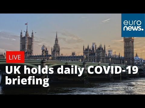 UK government holds daily virus briefing | LIVE