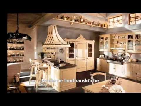 moderne landhausk che youtube. Black Bedroom Furniture Sets. Home Design Ideas