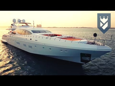 MANGUSTA 165 SUPERYACHT FOR SALE - WALK THROUGH VIDEO