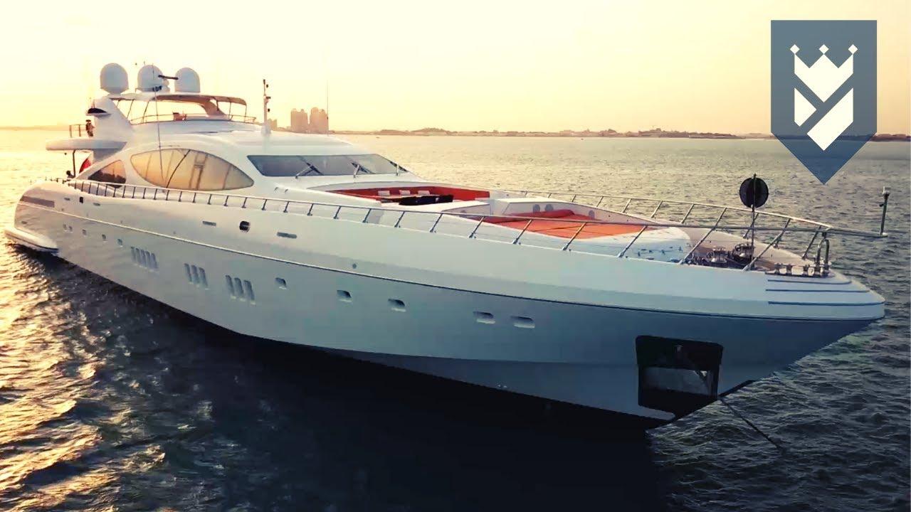 Mangusta 165 Superyacht For Sale Walk Through Video