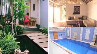 Bali House Tour x 2 under $70 a night