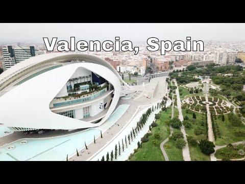 Drone Valencia, Spain