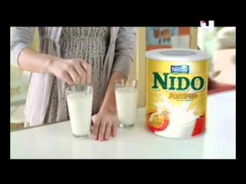 Nido powdered milk commercial - YouTube