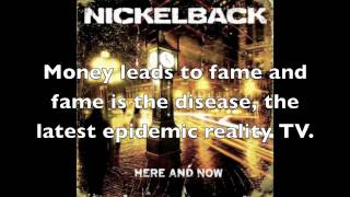 Nickelback Kiss it Goodbye Lyrics [HD]
