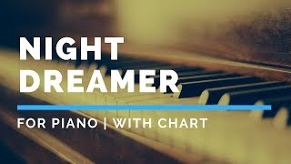 Night Dreamer Backing Track FOR PIANO
