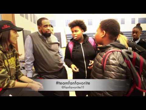 Kids React to La'Keisha Sutton Speaking at their School in Trenton, NJ