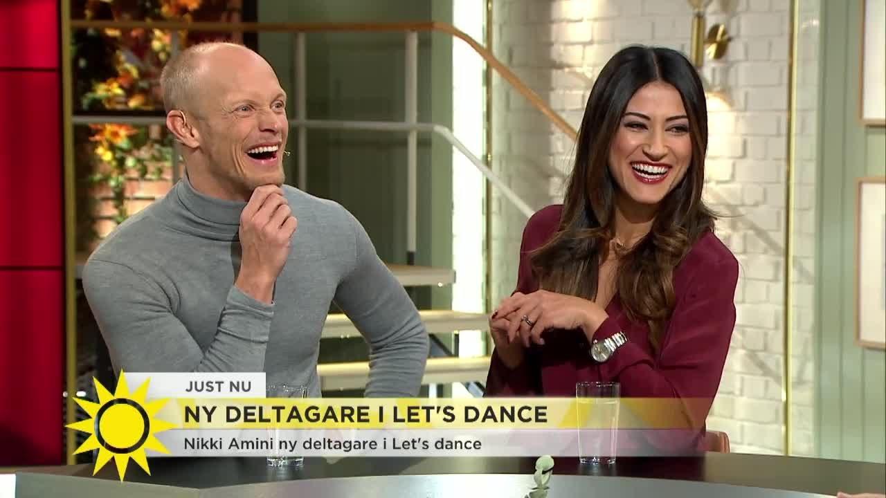 Nikki Amini Ny Deltagare I Let S Dance Nobbade Sin Egen Brollopsvals Nyhetsmorgon Tv4 Youtube