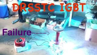 DRSSTC IGBT Failure Live on Film