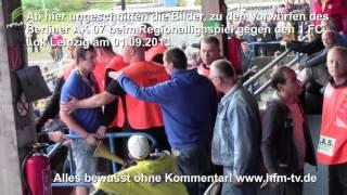 Ausschreitungen(ungeschnitten) bei 1.FC Lok Leipzig vs. Berliner AK 07 am 01.09.2013