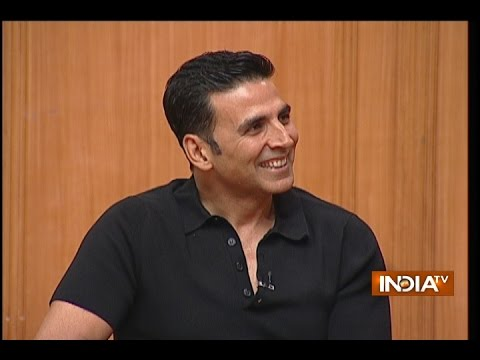 Bollywood Actor Akshay Kumar in Aap Ki Adalat (2017)
