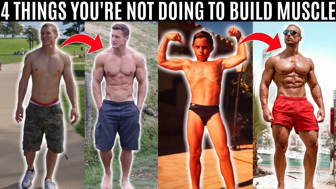 4 Things You're NOT DOING to Build Muscle ft. Mike Thurston