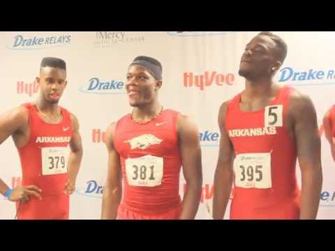 Arkansas - McLeod, Lawson, Cotton, Washington | Post Relays Victory 2015