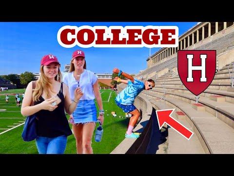FLIPPING VS COLLEGE STUDENTS! *Harvard University*