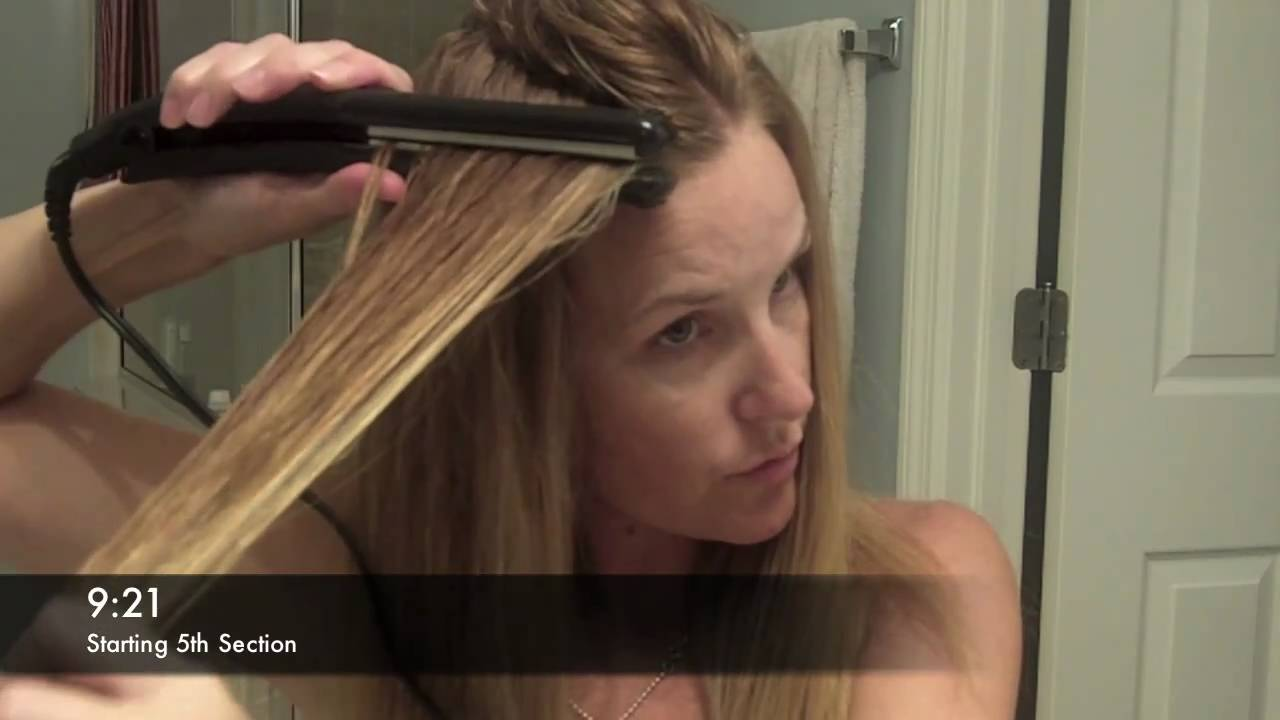 How to Make Curly Hair Straight with the Remington Wet to Straight Flat Iron 0897d13091b