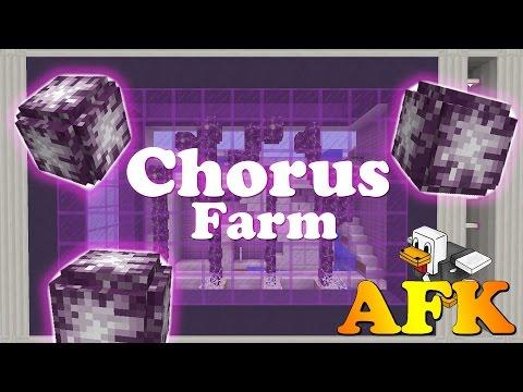 Minecraft 1.9 - AFK Chorus Farm