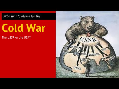 blame cold war 2 Historians have changed their views about who was to blame for the cold war over the years in 1959 the historian william appleman williams was the first to suggest that america was to blame the revisionists said america was engaged in a war to keep countries open to capitalism and american trade.