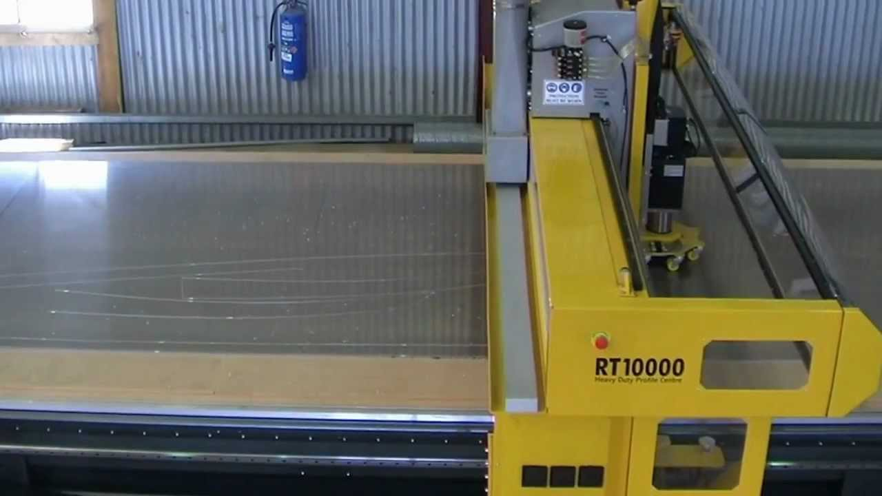 The Rt Series Heavy Duty Cnc Router Aluminum Machining