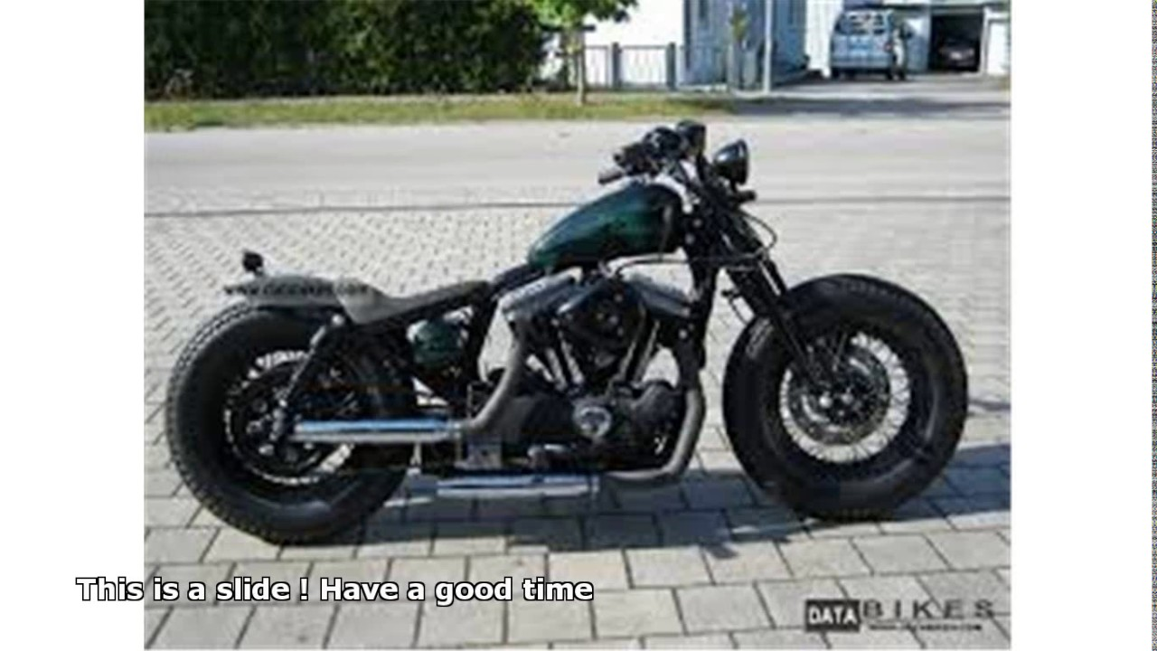 Harley Davidson Sportster Iron  Two Seater