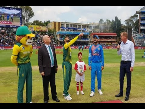 In Graphics: SA won the toss India bat 1st