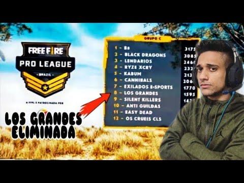 Download LOS GRANDES ELIMINADA DA PRÓ LEAGUE! EL GATO MANDA PAPO RETO PRA PRÓ LEAGUE