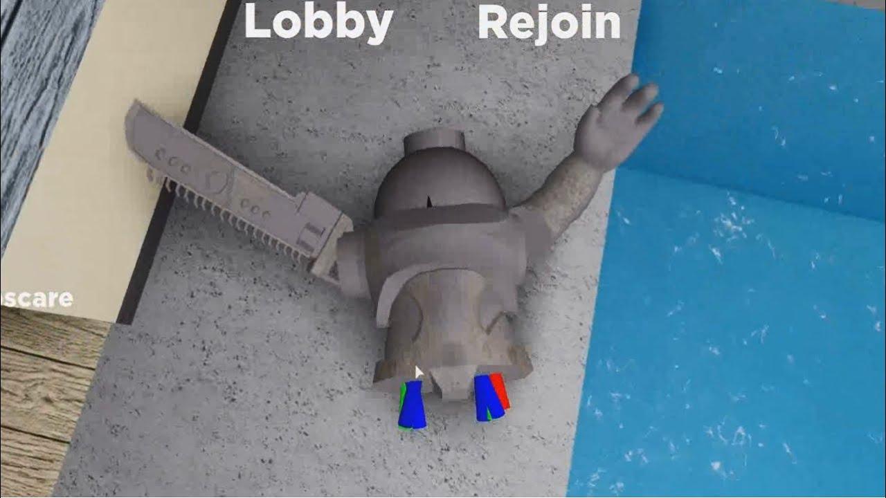 NEW BROKEN ROBBY GLITCH  Jumpscare NPC Test