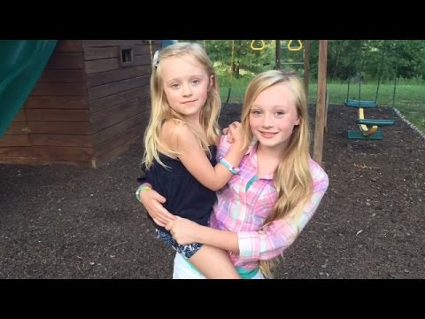 Princess Ella & Play doh girl from Fun Factory playing on the back yard play set park W baby turtles