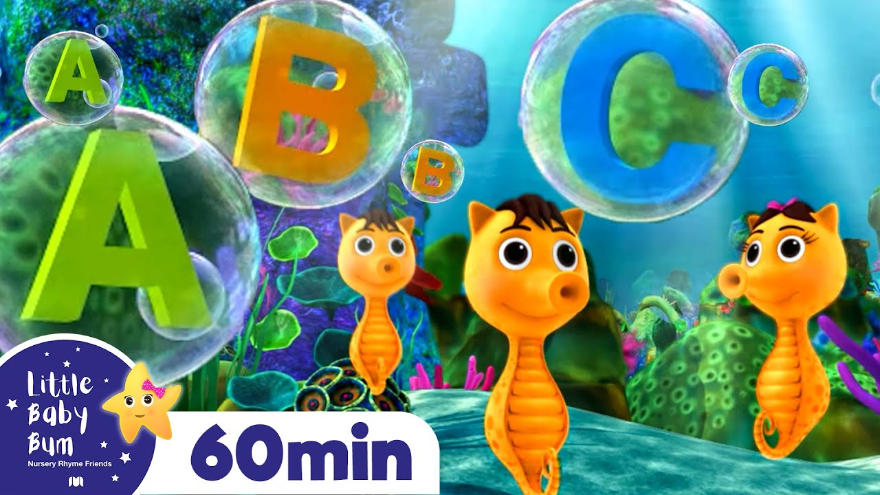 Learn Letters! - ABC Undersea Song! +More Nursery Rhymes and Kids Songs | Little Baby Bum