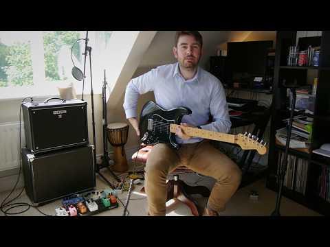 """1982 /1983 Fullerton """"Dan Smith"""" Fender Stratocaster (thru Boss Katana 50)"""