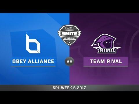 SPL Spring Split Week 6 Obey Alliance vs. Team Rival Game 2