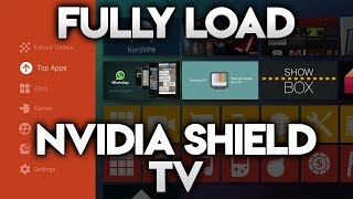 FULLY LOAD NVIDIA SHIELD TV - NO PC NEEDED