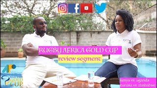 Official Podcast for the 2018 Africa Gold Cup;Kenya vs. Uganda & Tunisia vs. Zimbabwe- Review Show