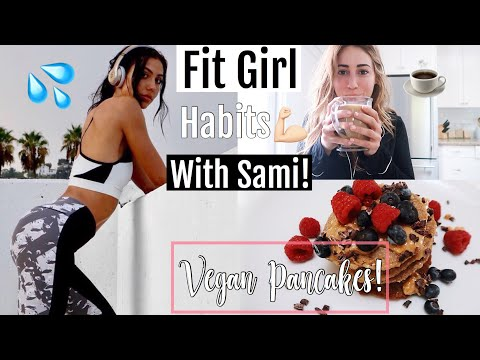 FIT GIRL HABITS + BEST VEGAN PROTEIN PANCAKES