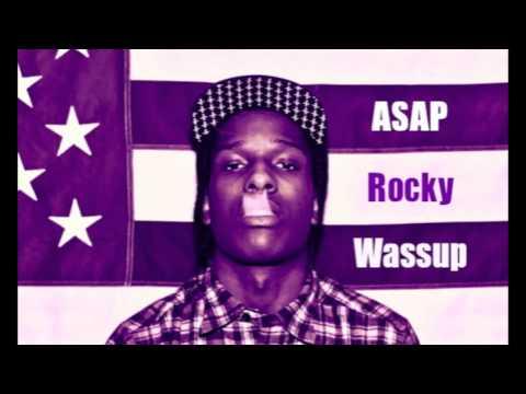 ASAP Rocky - Wassup (1 Hour Instrumental Mix) HQ