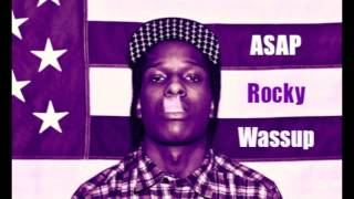 ASAP Rocky - Wassup (1 Hour Instrumental Mix) HQ