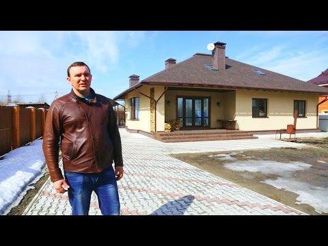 видео: Добротный одноэтажник с «запасной» мансардой. Часть 1. Конструктив здания // forumhouse