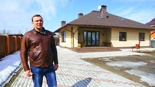 видео Проекты загородных домов из пеноблоков