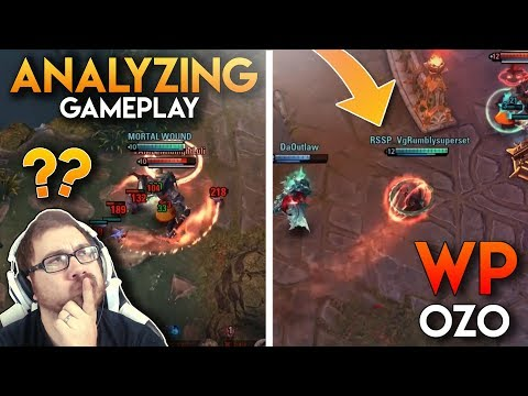 IS OZO VIABLE!?  Vainglory - Analyzing Gameplay: Ozo [WP] Top Gameplay