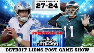 DETROIT LIONS POST GAME SHOW 9.22.2019