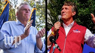 The Virginia governor's race is a major test for Democrats in the Biden era