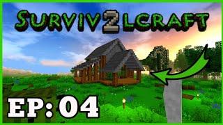 Survivalcraft2 EP: 04 O Dia Que Decide Fazer Uma Casa!