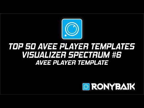 TOP 50 #1 Avee Player Templates | Free Download | Ronybaik Music