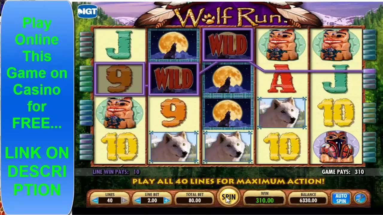 Free wolf run slot machine play slot machines free fun