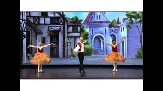 Andrea López - Don Quixote Basilio and Kitri friends dance