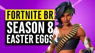 Fortnite | Season 8 Easter Eggs, Memes, Secrets and Story Recap